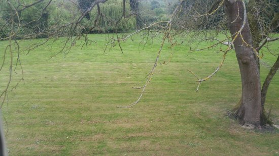 Chartham, UK: View out of one of the windows