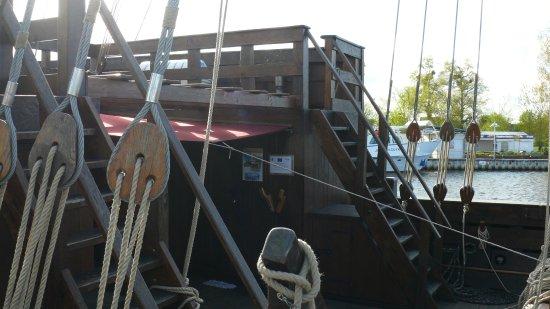 Ueckermunde, Alemania: Vorschiff
