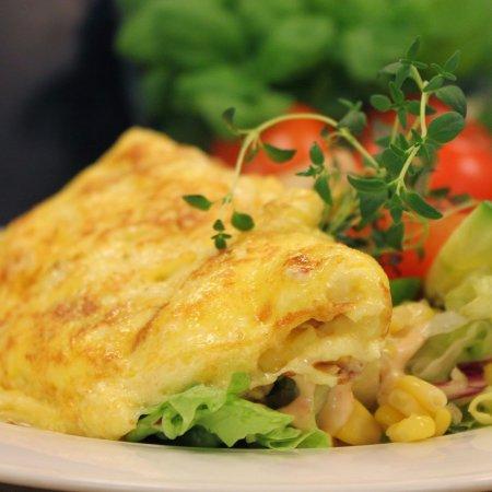 Gjerstad Municipality, Noruega: Omelett lunsj