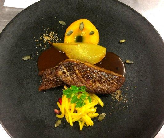 foie gras po l mangue et butternut photo de l 39 h liantis le grand bornand tripadvisor. Black Bedroom Furniture Sets. Home Design Ideas