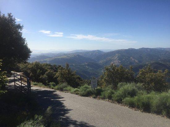 Mount Hamilton, Kalifornien: View to the north