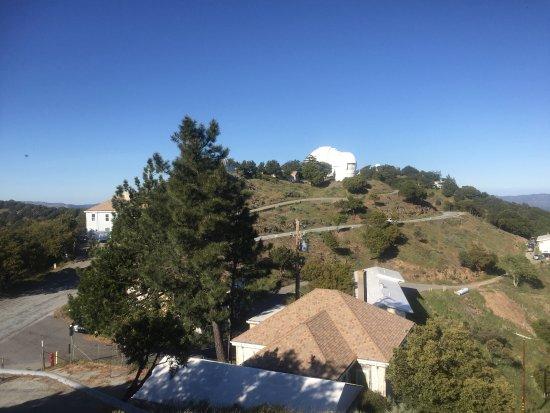 Mount Hamilton, Kalifornien: Telescope to the east.