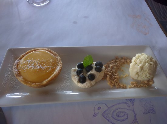 Lake Hawea, Nueva Zelanda: Tasty dessert