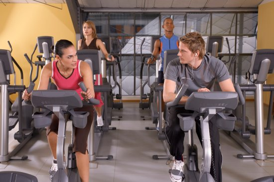 Unterföhring, Deutschland: Fitness Cardio