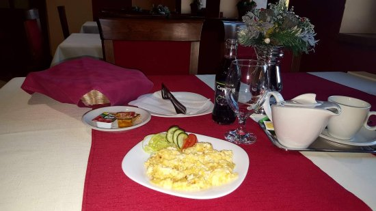 Bardejov, Slovakia: Breakfast/Raňajky