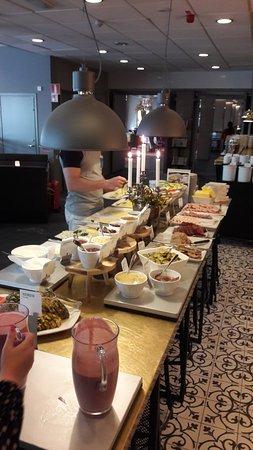 Gavle, Sweden: breakfast