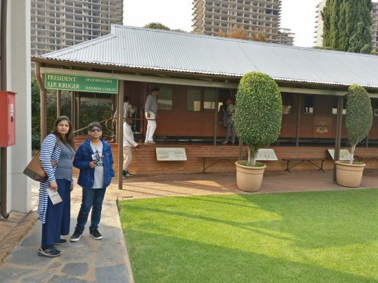 President Paul Kruger House: His personal rail coach on display at Kruger house
