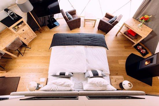 Whitepod Eco-Luxury Hotel : Pod Deluxe