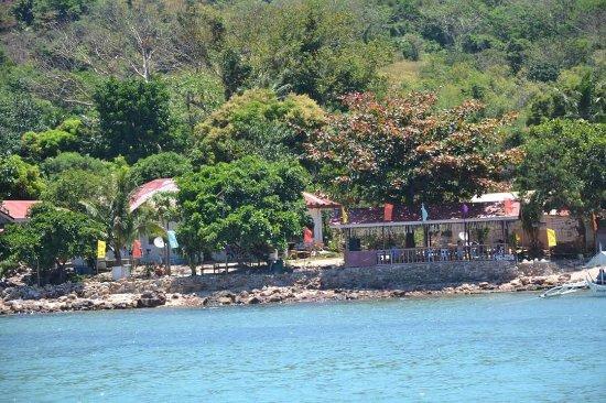Carles, Philippines: Helema Island Resort in isla gigantes