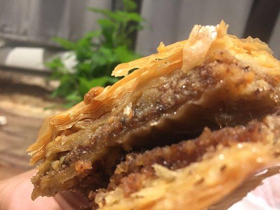 Holy Land Market: Baklava (walnut)