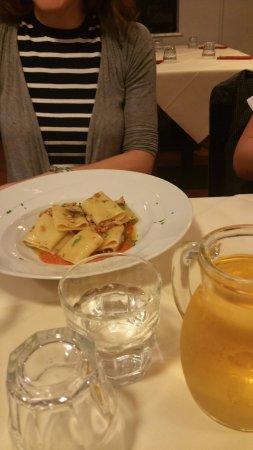 Vaglia, Italië: paccheri polpo e pomodorini