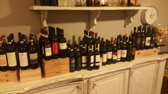 Vaglia, Italië: selezioni vini