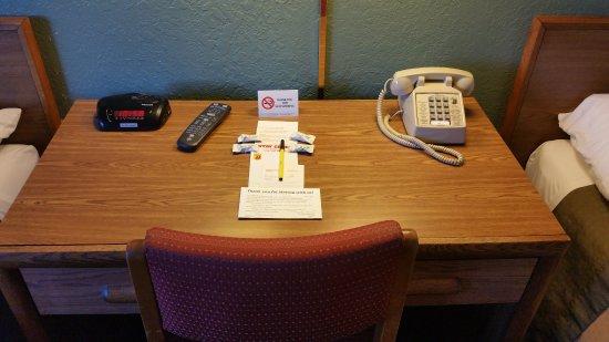 Glens Falls, Νέα Υόρκη: Desk Area