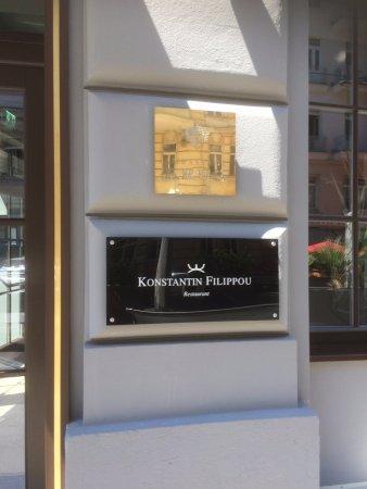 Konstantin Filippou: The Entrance Sign