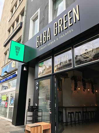 Photo of Middle Eastern Restaurant Baba Green at Am Wehrhahn 23, Düsseldorf 40211, Germany