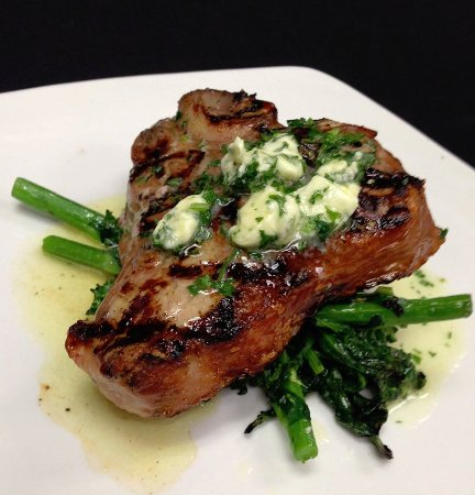 Akron, OH: Veal Chop, monthly special feature