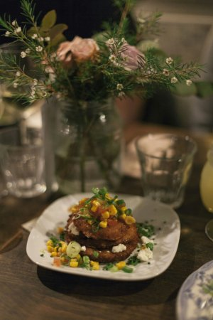 Picnic Restaurant: Fried green tomatoes, served for brunch and dinner