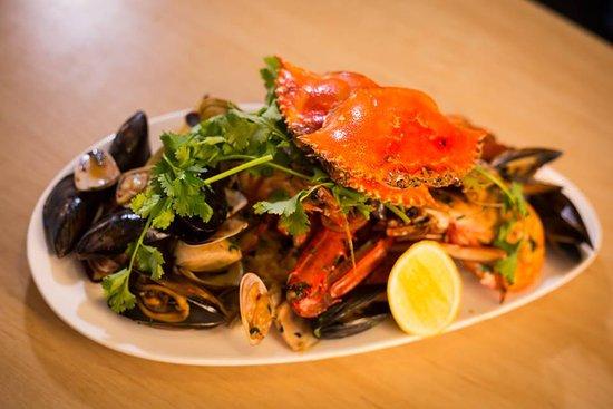 Williamstown, Australia: seafood platter