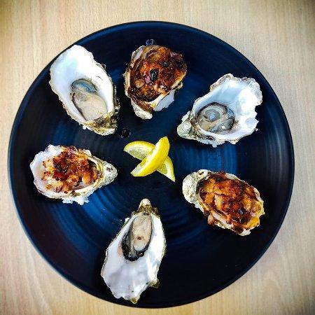 Williamstown, Australia: oyster kilpatrick