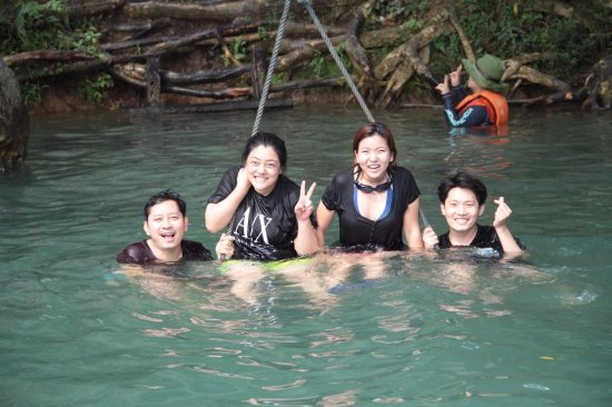 Vang Vieng, Laos: Blue Lagoon