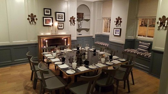Woodbridge, UK: Private Dining at The Crown