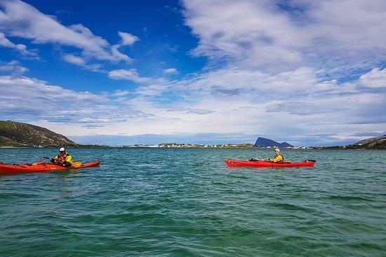 Sommaroy, Norge: Sea kayaking is popular!