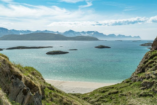 Sommaroy, Norge: One of our Arctic beaches.