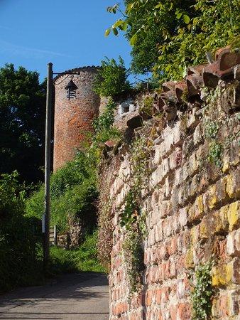 Chatillon-sur-Chalaronne, Γαλλία: tour des remparts