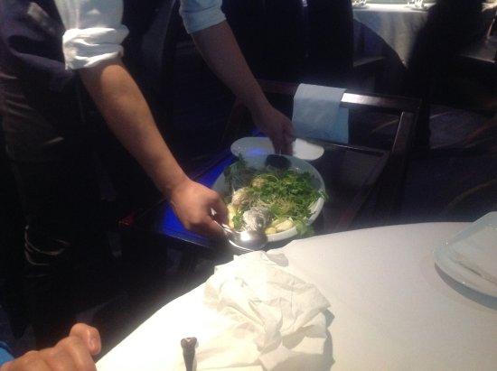 Ascot, Australia: Barramundi on Eggplant