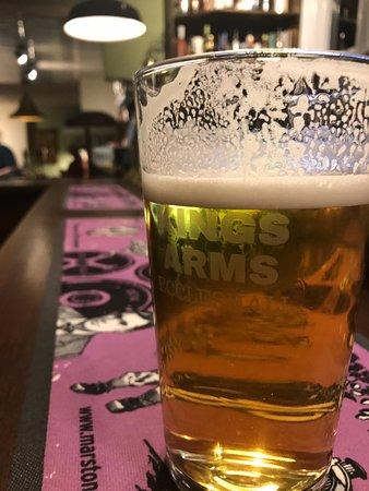 Eccleshall, UK: Fine cask ale