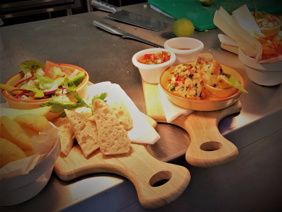 Eccleshall, UK: Food is bril!