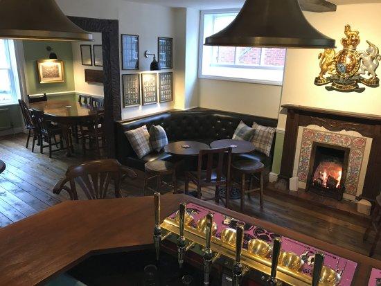 Eccleshall, UK: Comfortable and warm