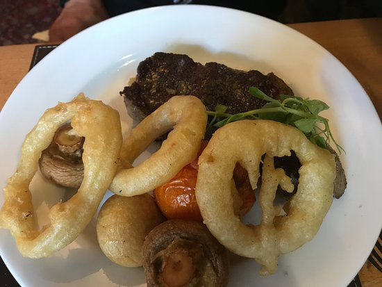 Padiham, UK: steak
