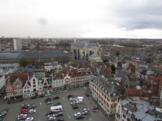 Arras, France: vue du Beffroi