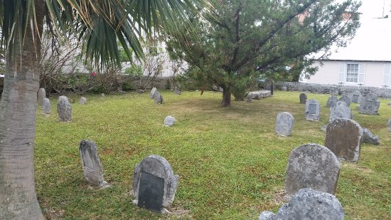 St. George, Islas Bermudas: graveyard surrounding church