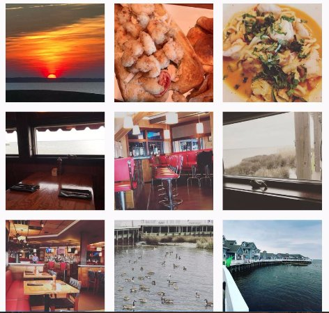 Duck, NC: My photos from instagram of Blue Point, go early and meander around the water's edge