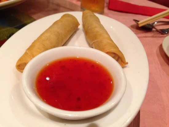Padiham, UK: spring roll