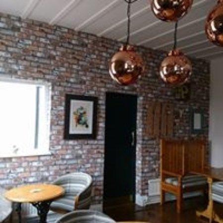 Armitage, UK: Newly refurbished bar area