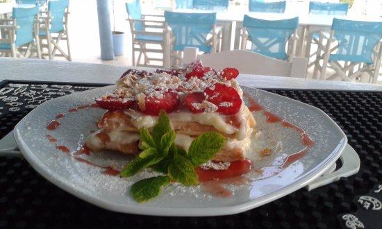 Kastraki, Greece: home made desserts