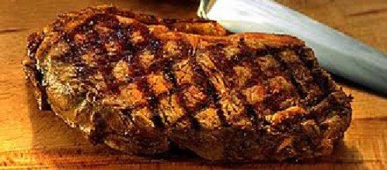 Leiwen, Γερμανία: Steak vom Grill