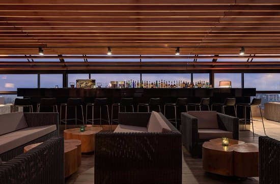 the attic roof top bar and restaurant picture of park inn by rh tripadvisor com