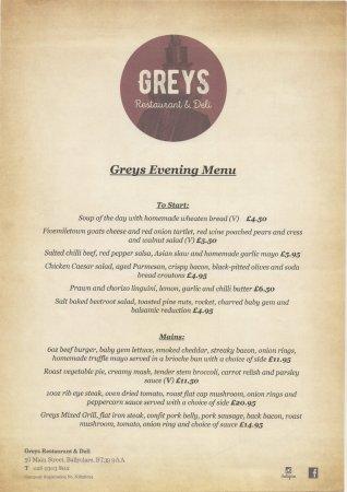 Ballyclare, UK: greys evening part 1