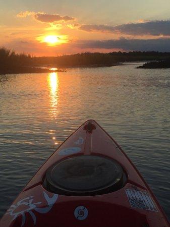 Sunset Beach, NC: sunset