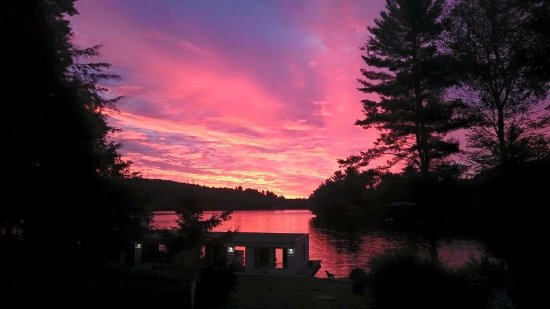 Port Carling, Canada: Spectacular sunsets