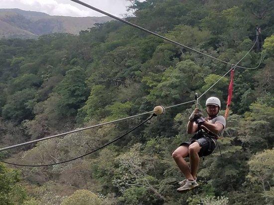 Playa Hermosa, Costa Rica: ziplining