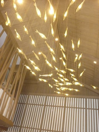 Changshu, China: Lighting in the reception area