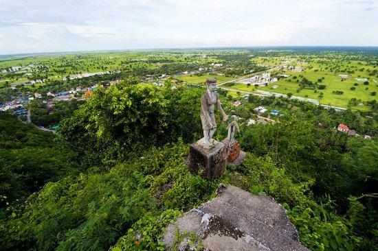 Battambang, Kambodża: Mountain view