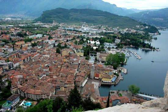 View of Riva del Garda from The Bastion