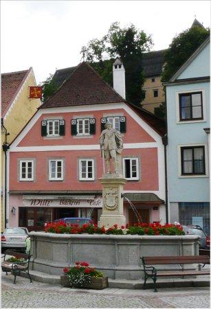 Grein, Österreich: restaurant is close to this area