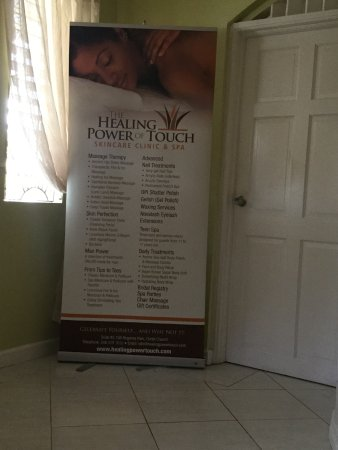 Christ Church Parish, Barbados: Entrance to main therapy area